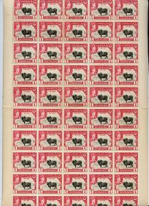 Bahawalpur 1949 S Jubilee of Accession 1a (Bull) complete...