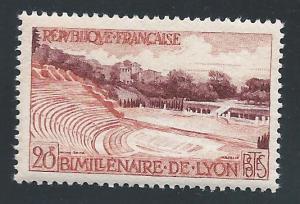 France #849, LH