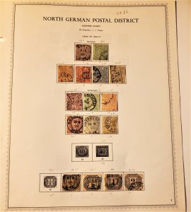 USED COLLECTION OF N. GER. CONF.& ALSASE & LORRAINE