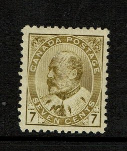 Canada SC# 92, Mint Hinged, Hinge Remnant, very minor top gum crease - S11398