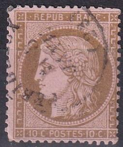 France #55  Used  CV $9.50  Z686