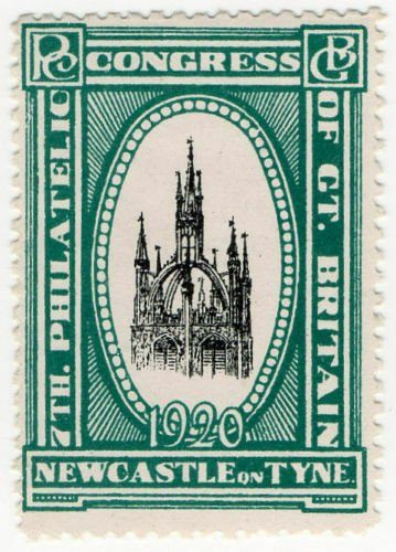 (I.B) Cinderella : 7th Philatelic Congress (Newcastle 1920)