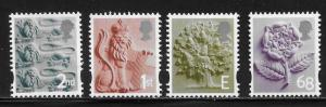 Great Britain England 6-9 2003 Definitives set MNH