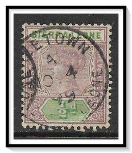 Sierra Leone #34 Queen Victoria Used