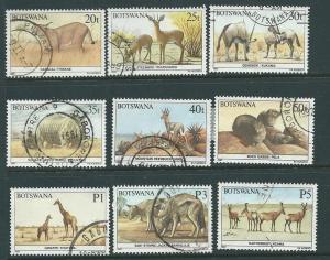Botswana #414-420,422-423    (U) CV $38.95