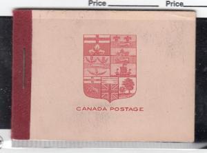 CANADA # BK5d KGV ADMIRAL BOOKLET CAT VALUE $150+++