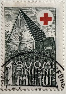 AlexStamps FINLAND #B5 VF Used