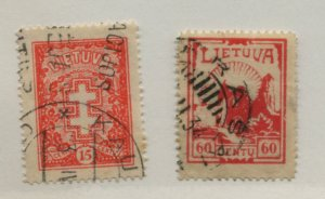LITHUANIA  280 282   USED
