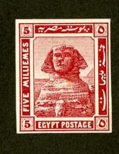 Egypt Stamps # 54 OG LH Rare Imp Pyramids