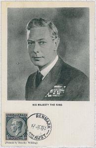 MAXIMUM CARD - POSTAL HISTORY -  AUSTRALIA : ROYALTY 1953