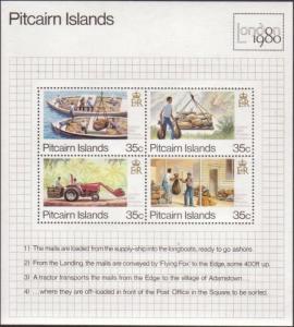 Pitcairn Islands 1980 SG205 London MS MNH