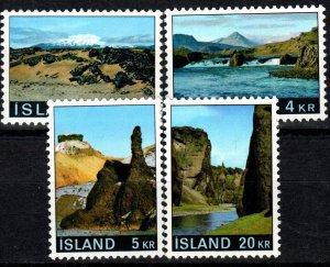 Iceland #412-5 F-VF CV $2.80 (V5377)