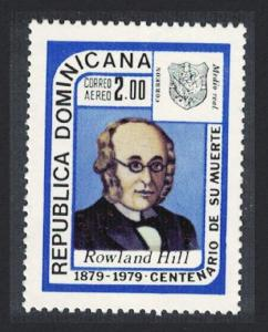 Dominican Rep. Death Centenary of Sir Rowland Hill 1979 MNH SG#1373