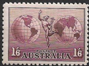 1934 Australia C4 Mercury and Hemispheres MH