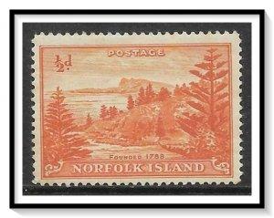 Norfolk Island #1 View Of Ball Bay NG