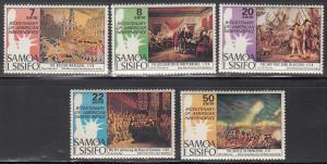Samoa MNH 428-32 American Bicentennial 1976