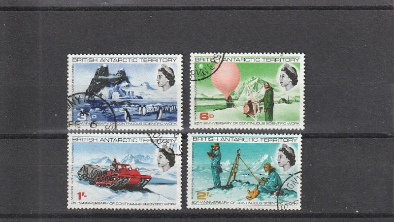 British Antarctic Territory  Scott#  20-3  Used