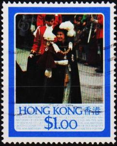 Hong Kong. 1986 $1 S.G.513 Fine Used