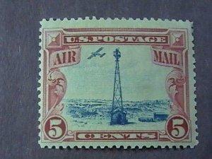 U.S.# C11--MINT NEVER/HINGED--CARMINE & BLACK---AIR-MAIL---1928