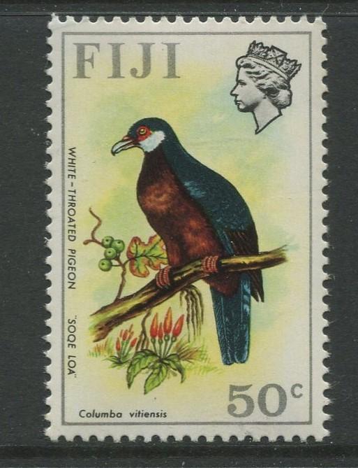 Fiji - Scott 318 - QEII Difinitive Issue -1971- MNH - Single 50c Stamp