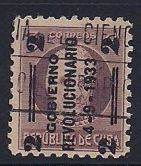 Cuba Sc. #318 Establishment of the Junta Used L8