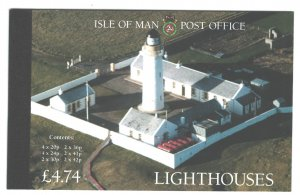 Isle of Man 1996 Lighthouses prestige booklet