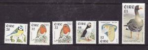 Ireland-Sc#1036-40-unused NH set-Birds-1997-please note there is some  gum glaze