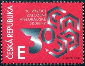 2021  Czech Republic - Visegard Group (Scott NA) MNH