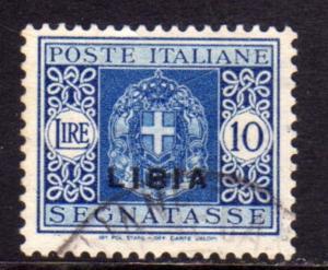 LIBIA 1934 SOPRASTAMPATO D'ITALIA ITALY OVERPRINTED SEGNATASSE POSTAGE DUE TA...