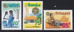 Netherlands Antilles #867-69 F-VF Mint NH ** Traditional Musical Instruments