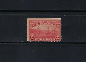 #372 2cent HALF MOON AND CLERMONT MNH SINGLE - SCV is $21.00 - W34
