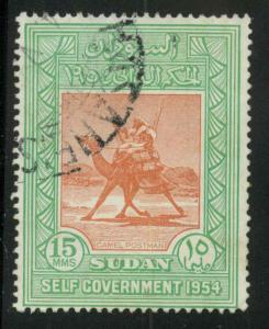 Sudan 115 Used VF