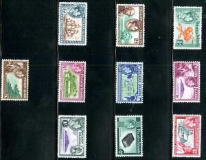 Pitcairn Islands 1-8 MH SCV