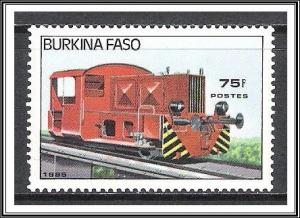 Burkina Faso #733 Locomotives Trains MNH