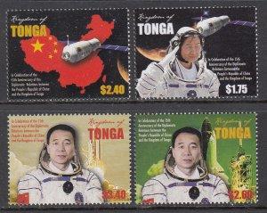 Tonga 1246-1249 Space MNH VF