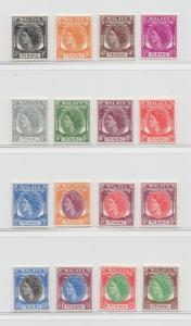 Malaya Penang - 1954 - SG 28-43 - MNH