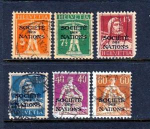 Swiss UN #2o1//2o24  Great issue (USED)