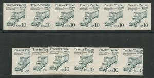 #2457a TRACTOR TRAILER CV $110 / PAIR WHOLE SALE LOT OF 9 PAIRS CV $990 BS5697
