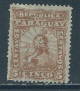 Paraguay 12  MNH (1)