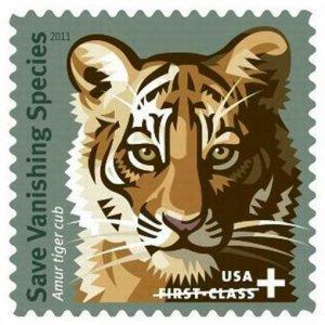 Save Vanishing Species Semi Postal Sheet of Twenty Stamps Scott B4