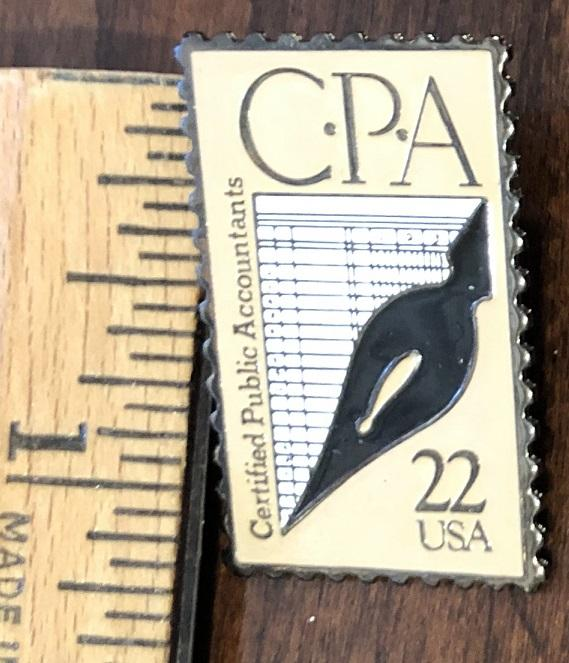 USPS Stamp Pin: Scott #2361 Certified Public Accounting (CPA)