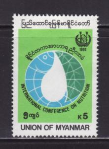 Burma Myanmar 314 MH International Conference on Neutrition