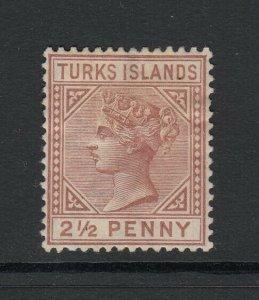 Turks Islands, Sc 49 (SG 56), MHR