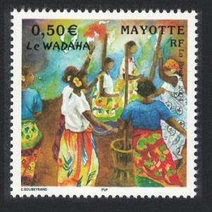 Mayotte Women Dancing Le Wadaha 1v SG#187
