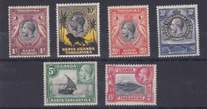 K U T 1935 - 37   S G 110 - 1185  VARIOUS VALUES TO 30C    MH