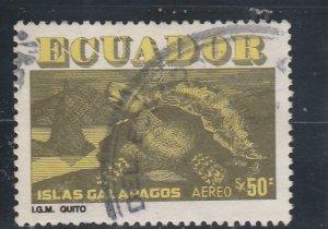 Ecuador  Scott#  C719  Used  (1981 Turtle)