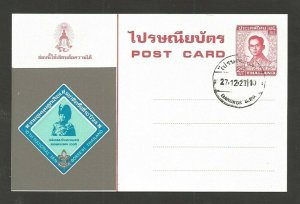 1980 Scouts Thailand 10th National Jamboree postcard FDC