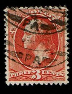 Scott #214 VF-used. SCV - $50.00