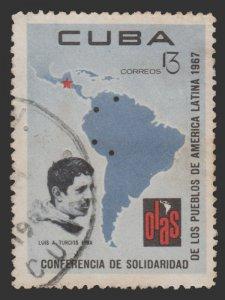 LATIN AMERICA 1967. SCOTT # 1247. USED. TOPIC: COMMEMORATIVE