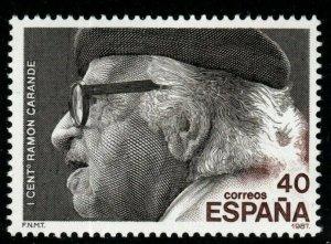 SPAIN SG2922 1987 RAMON CARANDE MNH